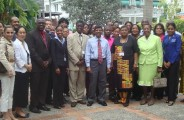 Training Secretary Generals in Guyana