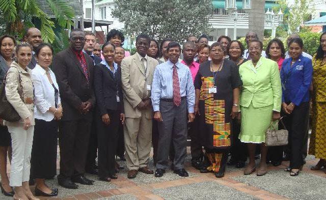 Training Secretary Generals in Guyana